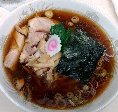 長岡生姜醤油ラーメン