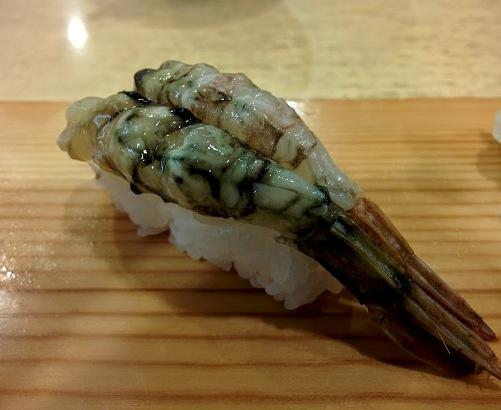 ドロエビのお寿司